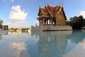 Siriraj Buddhist Temple at Chao Praya River