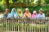 Group of Happy Kids Outdoor