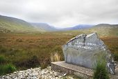 National park Connemara.