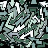 Arrows Seamless Background