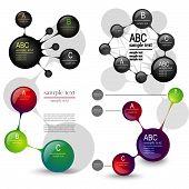 Set Layouts Infographics