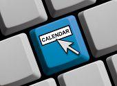Computer Keyboard: Calendar