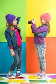 pic of little girls photo-models  - Best friends - JPG