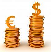 Advantage Of Us Dollar Over Euro