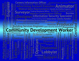 pic of blue-collar-worker  - Community Development Worker Represents Blue Collar And Advance - JPG