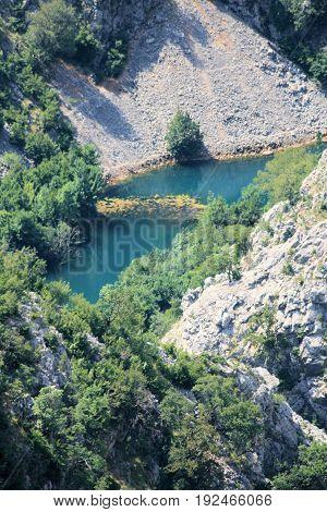the river Krupa in all it's glory, Croatia