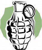 stock photo of rg  - grenade - JPG