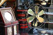 Antique Copper Fan