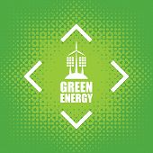 green poster
