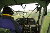 Piloting Small Plane