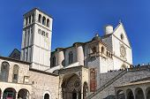 basilica of Saint Francis in Assisi