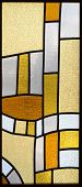 Stained-glass fragment