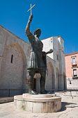 The Colossus of Barletta. Apulia.