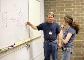 Teacher Explains To Student