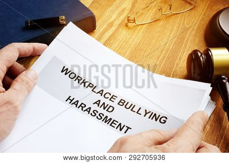 Workplace Bullying And Harassment Claim