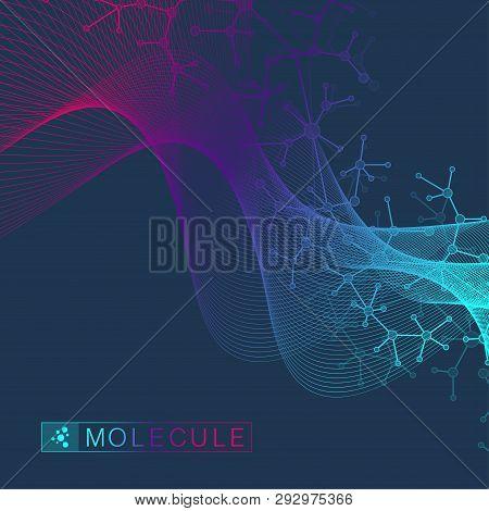Scientific Vector Illustration Genetic Engineering