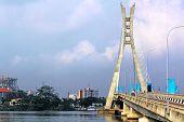 Lagos, Nigeria; Lekki-ikoyi Toll Bridge - Lagos Landmark poster