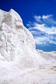 Chalk Mountains Near The Russian City Of Belgorod
