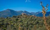 Mountain Landscape In Inner Mani On Peloponnese, Greece poster