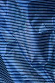 Black Gray Striped Plastic Texture Of Crumpled Cellophane poster