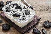 Cookies And Cream Homemade Ice Cream poster