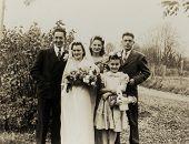 Vintage Family Photo 1917