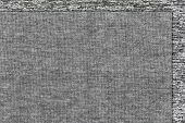 Cotton Fabric Texture Or Cotton Fabric Background. Gray Colors Fabric Cotton. Natural Fabric. Fabric poster