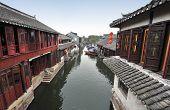 Water town near Suzhou, China
