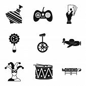Entertainment Industry Icons Set. Simple Set Of 9 Entertainment Industry Icons For Web Isolated On W poster