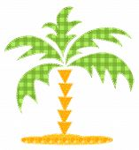 Patchwork Palm Tree.
