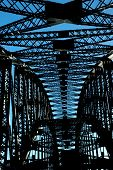 Sydney Harbor Bridge Abstract 2
