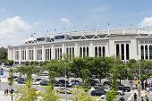 NEW YORK CITY - JUNE 10: Yankee Stadium is a stadium located in The Bronx in New York City. It is the home ballpark for the New York Yankees. June 10, 2012 in New York City, USA