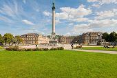 Schlossplatz  In Stuttgart