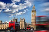 Big Ben with bridge, London, UK