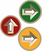 Directional Arrows In 3D
