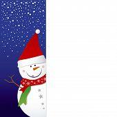 Snowman design