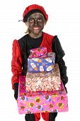 Black Piet With Many Presents