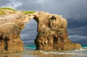 Las Catedrales Beach, Ribadeo, SpainBefore The Rain.