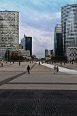 Paris Business District---La Defense