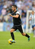 BARCELONA - OCT, 27: Isco Alarcon of Malaga CF during a Spanish League match between Espanyol and Ma