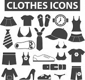 stock photo of button down blouse  - clothes signs - JPG