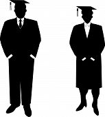 Business People Students Vector