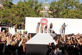 LOS ANGELES - AUG 9:  Leigh-Anne Pinnock, Jade Thirwall, Perrie Edwards, Jesy Nelson, Little Mix at the Teen Vogue's Back-To-School Kick-Off Event at the The Grove on August 9, 2013 in Los Angeles, CA