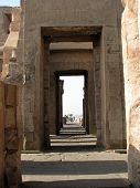 Through The Temple At Kom Ombo