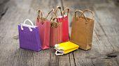 Miniature Shopping Bags