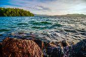 Scenery Around Lake Jocasse Gorge