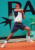 Ruben Ramirez Hidalgo (esp) At Roland Garros