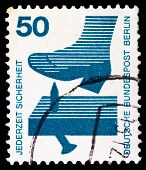 German Post Stamp