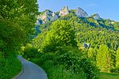 Trail To The Top Of The Three Crowns In Pieniny Mountains.