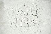 Cracked concrete background